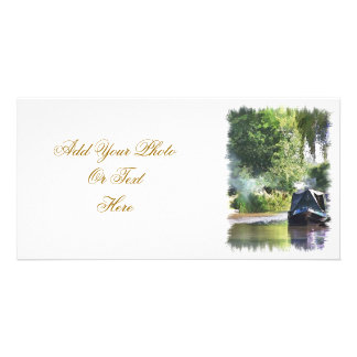 CANAL BOATS UK CUSTOMIZED PHOTO CARD