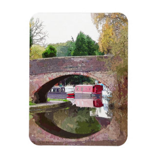 CANAL BOATS UK VINYL MAGNETS