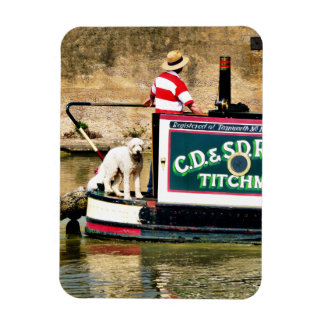 CANAL BOATS UK FLEXIBLE MAGNET