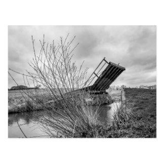 """Canal Bridge"" design postcards"