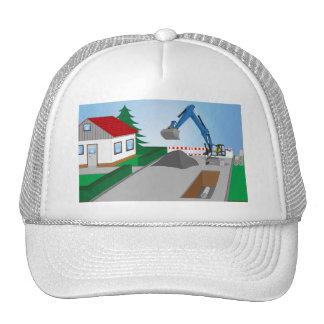 Canal construction place cap