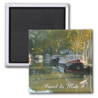 Canal du Midi, Capestang Square Magnet