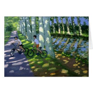 Canal du Midi France Card