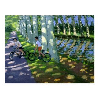 Canal du Midi France Postcard