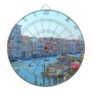 Canal Grande in a summer day in Venice Italy Dart Board