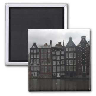Canal houses in Amsterdam Magnets