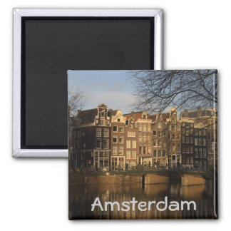 Canal houses square magnet