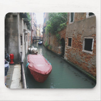 Canal in Italy Mouse Pad