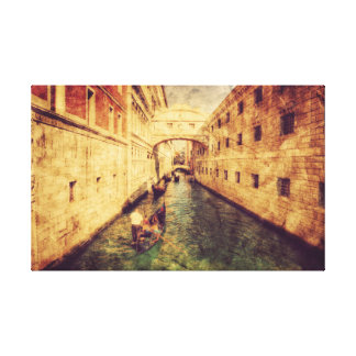 Canal in Venice. Europe. Canvas Print
