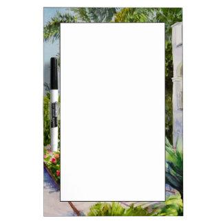 Canal Rose Garden Dry-Erase Board
