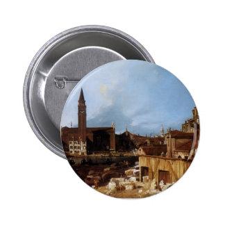 Canaletto- Stonemason's Yard Pin