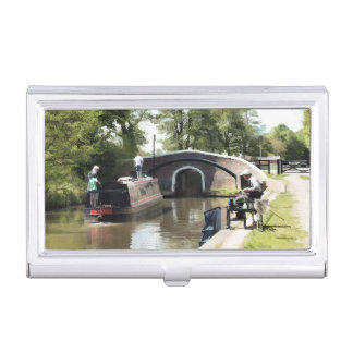 CANALS BUSINESS CARD HOLDER