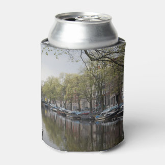 Canals in Amsterdam, Holland Can Cooler