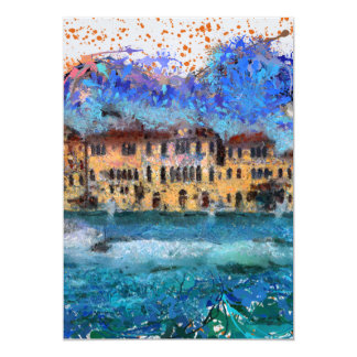 Canals in Venice Card