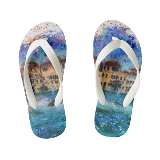 Canals in Venice Kid's Thongs