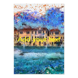 Canals in Venice Magnetic Card