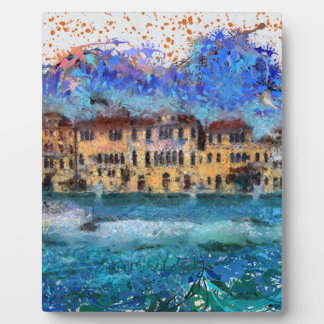 Canals in Venice Plaque