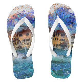 Canals in Venice Thongs