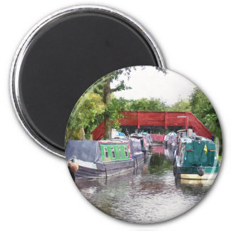 CANALS 2 INCH ROUND MAGNET