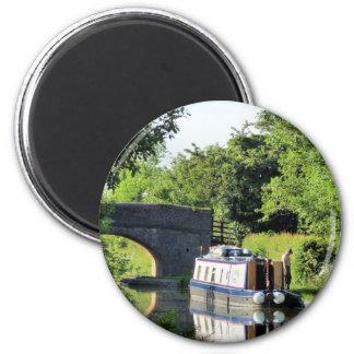 CANALS 6 CM ROUND MAGNET