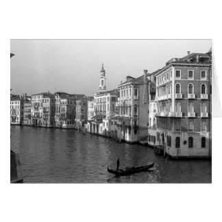 Canals of Venice Italy Card