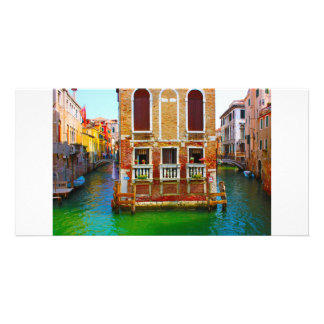 Canals  of Venice Photo Greeting Card