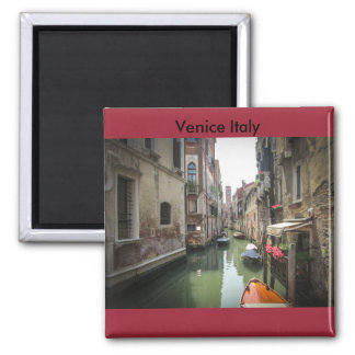 Canals of Venice Square Magnet