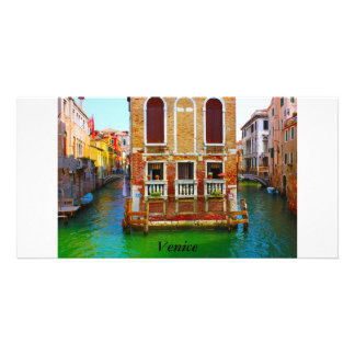 Canals  of Venice, Venice Picture Card