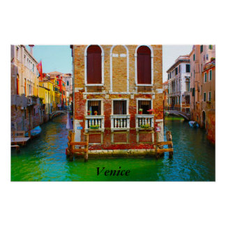 Canals of Venice Venice Poster