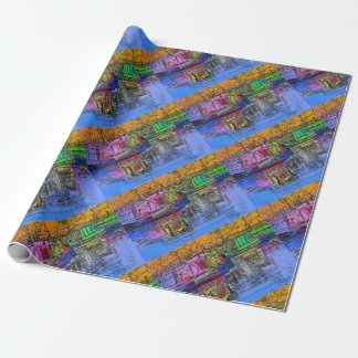 CANALS WRAPPING PAPER
