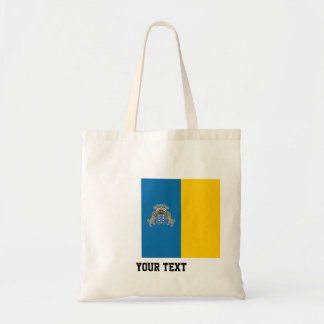 Canarian flag tote bag