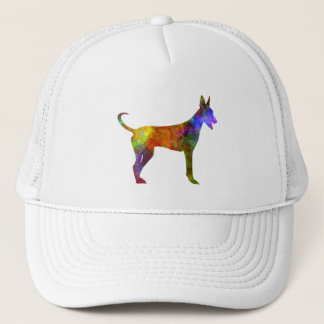 Canarian Warren Hound in watercolor Trucker Hat