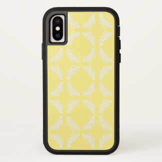 Canary Arts and Crafts Butterflies iPhone X Case