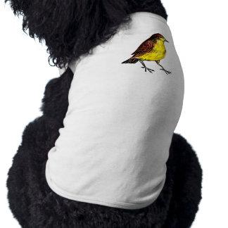 Canary Bird Dog T Shirt