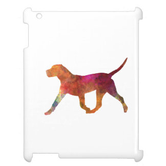 Canary bulldog in watercolor case for the iPad 2 3 4