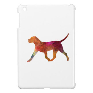 Canary bulldog in watercolor iPad mini cover