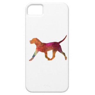Canary bulldog in watercolor iPhone 5 cover