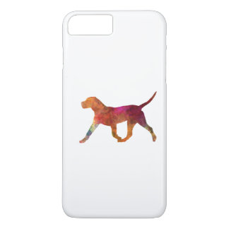 Canary bulldog in watercolor iPhone 7 plus case