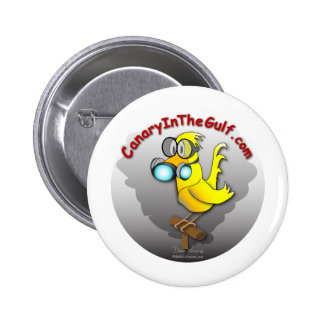 Canary in the Gulf Buttons