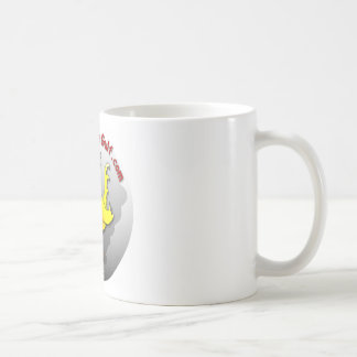 Canary in the Gulf Coffee Mugs