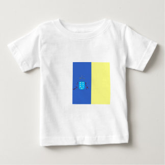 canary-Islands Flag Baby T-Shirt