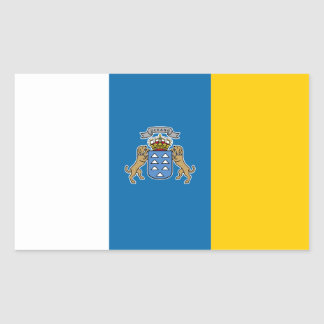 Canary* Islands Flag Sticker