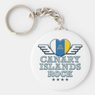 Canary Islands Rock v2 Key Ring