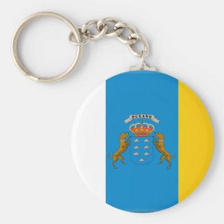 Canary Islands (Spain) Flag Key Ring