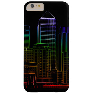 Canary Wharf - London Barely There iPhone 6 Plus Case