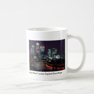 Canary Wharf London England Coffee Mug