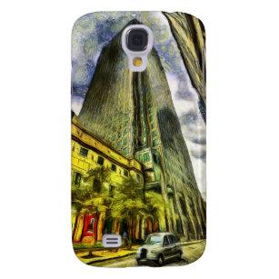 Canary Wharf London Van Gogh Samsung Galaxy S4 Cover