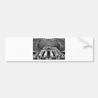 canary wharf tube station bumper sticker