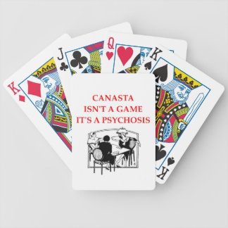 CANASTA BICYCLE POKER CARDS