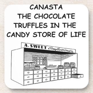 canasta coaster